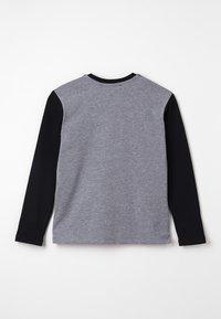 Bikkembergs Kids - LONG SLEEVES - Pitkähihainen paita - grey melange - 1