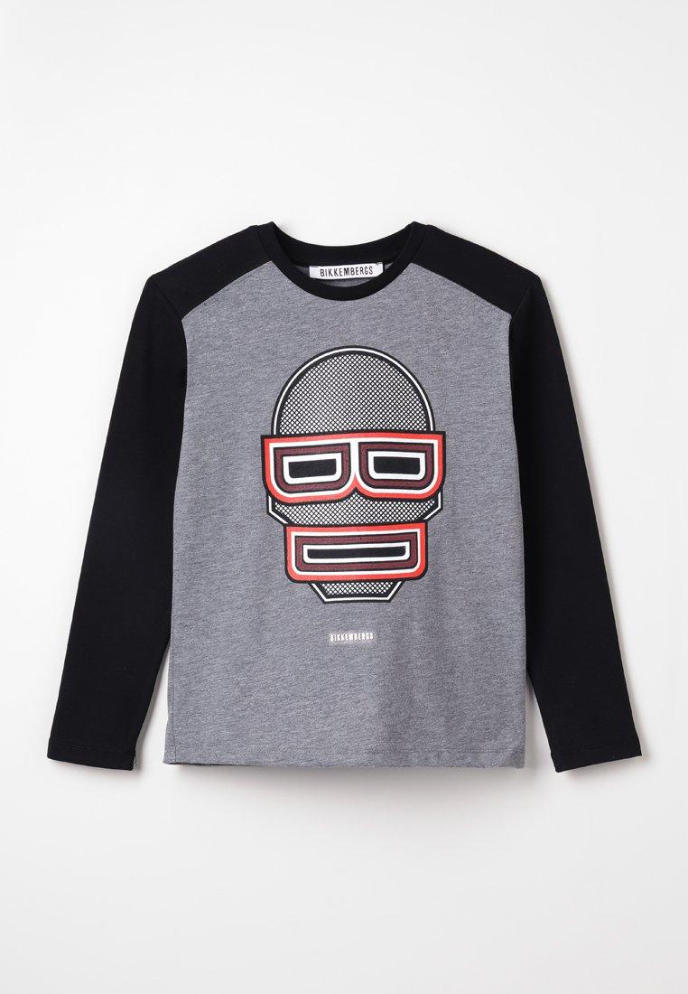 Bikkembergs Kids - LONG SLEEVES - Pitkähihainen paita - grey melange