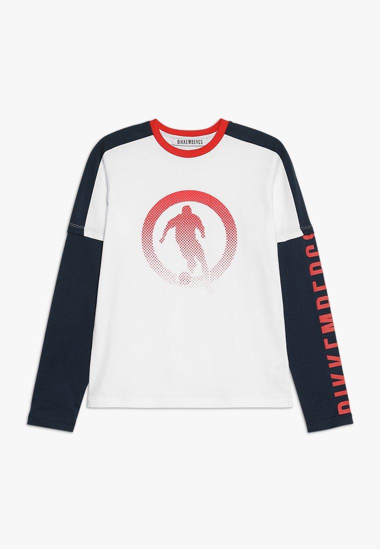 Bikkembergs Kids - Langærmede T-shirts - white