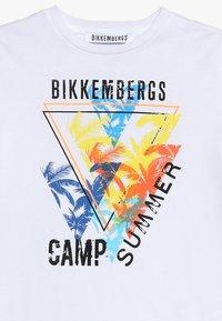 Bikkembergs Kids - Printtipaita - white - 3