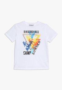 Bikkembergs Kids - Printtipaita - white - 0