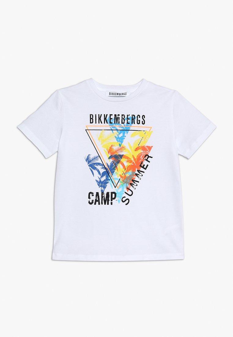 Bikkembergs Kids - Printtipaita - white
