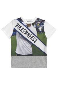 Bikkembergs Kids - Printtipaita - grey melange - 0