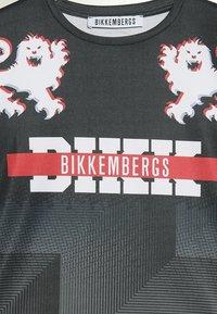 Bikkembergs Kids - Printtipaita - black - 2