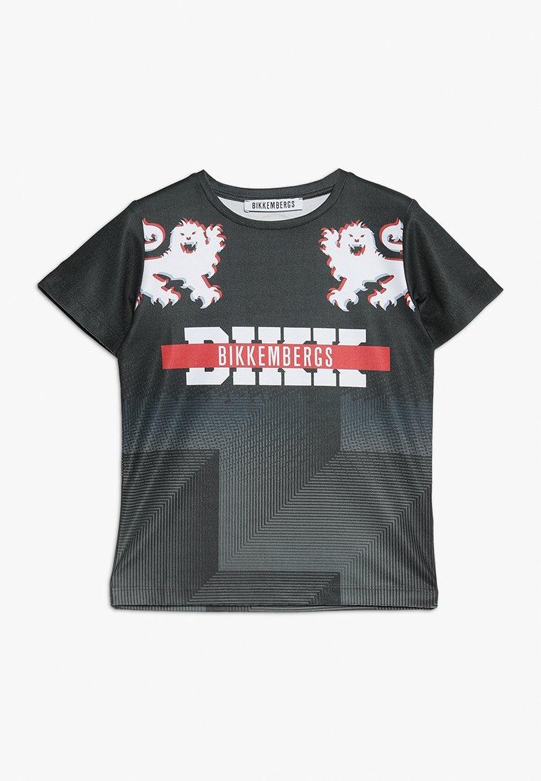 Bikkemberg Kids - T-Shirt print - black