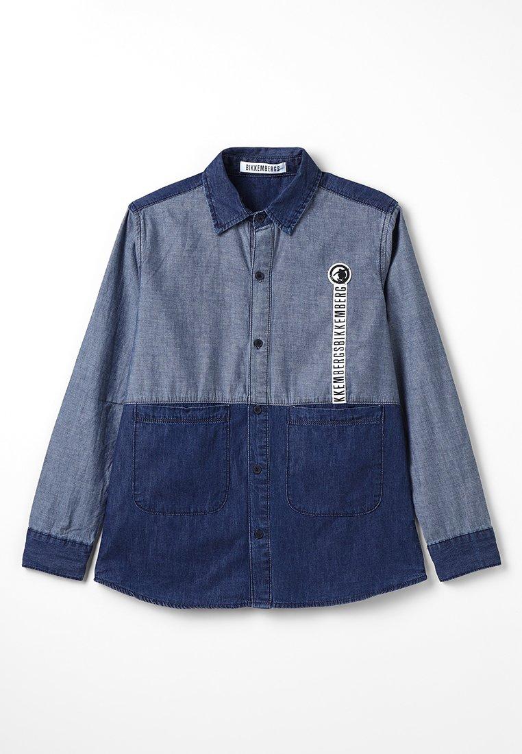 Bikkemberg Kids - Shirt - blue denim