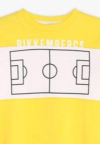 Bikkembergs Kids - Collegepaita - yellow - 3