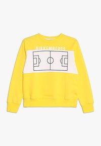 Bikkembergs Kids - Collegepaita - yellow - 0