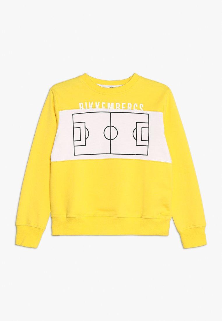 Bikkembergs Kids - Collegepaita - yellow
