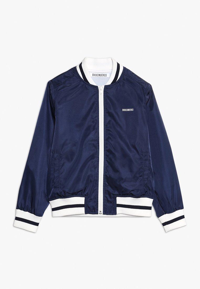 Bikkemberg Kids - Bomber Jacket - blue