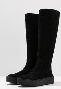 Billi Bi - Plateaustøvler - black - 4