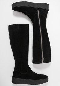 Billi Bi - Plateaustøvler - black - 3