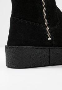Billi Bi - Plateaustøvler - black - 2