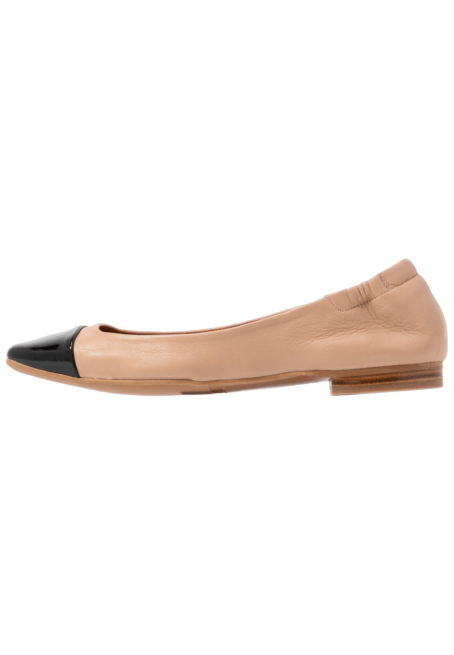 Billi Bi Ballerina's - Black/beige Goedkope Schoenen