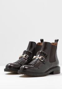 Billi Bi - Ankle boots - testa di moro/gold - 3