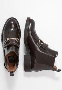 Billi Bi - Ankle boots - testa di moro/gold - 4