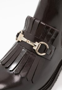 Billi Bi - Ankle boots - testa di moro/gold - 2