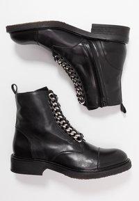 Billi Bi - Cowboy/biker ankle boot - black - 3