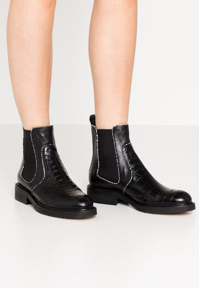 Korte laarzen - black polo teneriffe