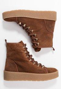 Billi Bi - Platform ankle boots - cognac - 3