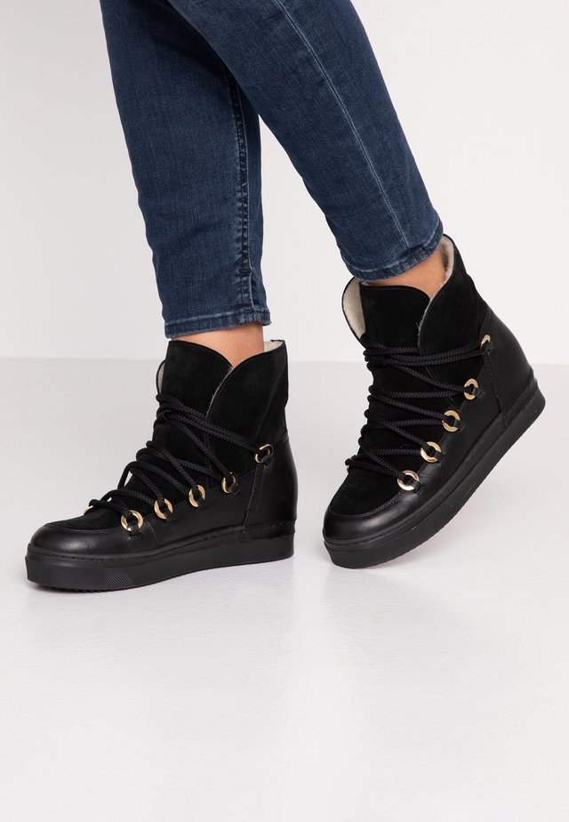 Ankle boot - black tomcat/black