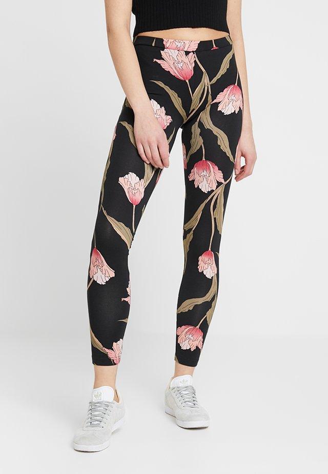 MINA - Pantaloni - black