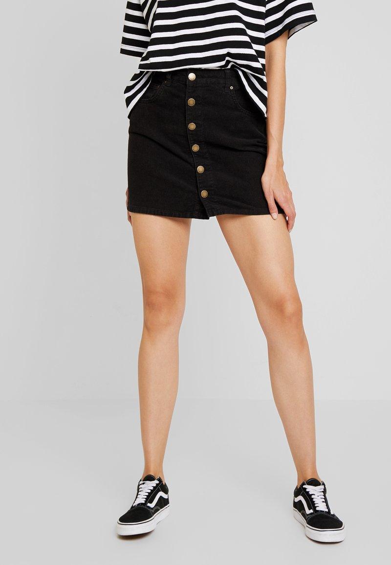 Billabong - GOOD LIFE - A-line skirt - black