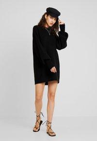 Billabong - RIDE BABE - Strikket kjole - black - 1