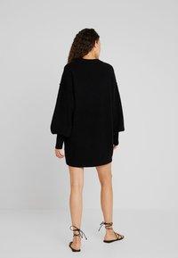 Billabong - RIDE BABE - Strikket kjole - black - 2