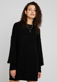 Billabong - RIDE BABE - Strikket kjole - black - 0