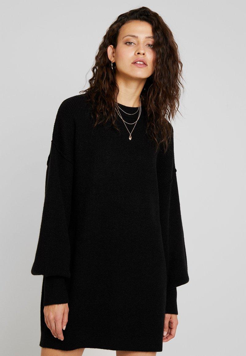 Billabong - RIDE BABE - Strikket kjole - black