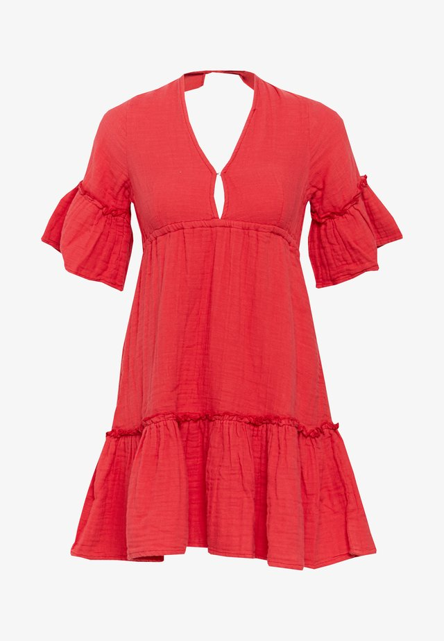 LOVERS WISH - Korte jurk - rio red