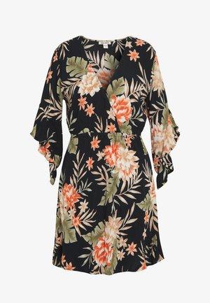 LOVE LIGHT - Korte jurk - black floral
