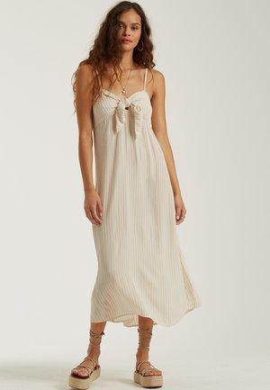 Maxi dress - almond