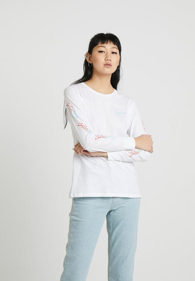 EIGHTY SIX GIRL - Langærmede T-shirts - white