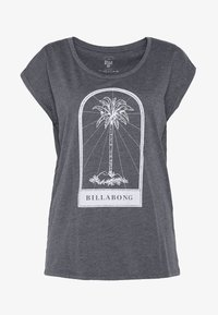 Billabong - ALL NIGHT TEE - Camiseta estampada - black - 3