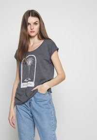 Billabong - ALL NIGHT TEE - Camiseta estampada - black - 0