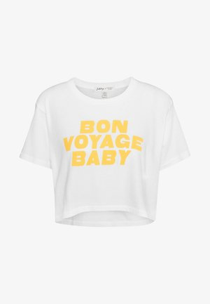 WORN AWAY TEE - Camiseta estampada - cool wip