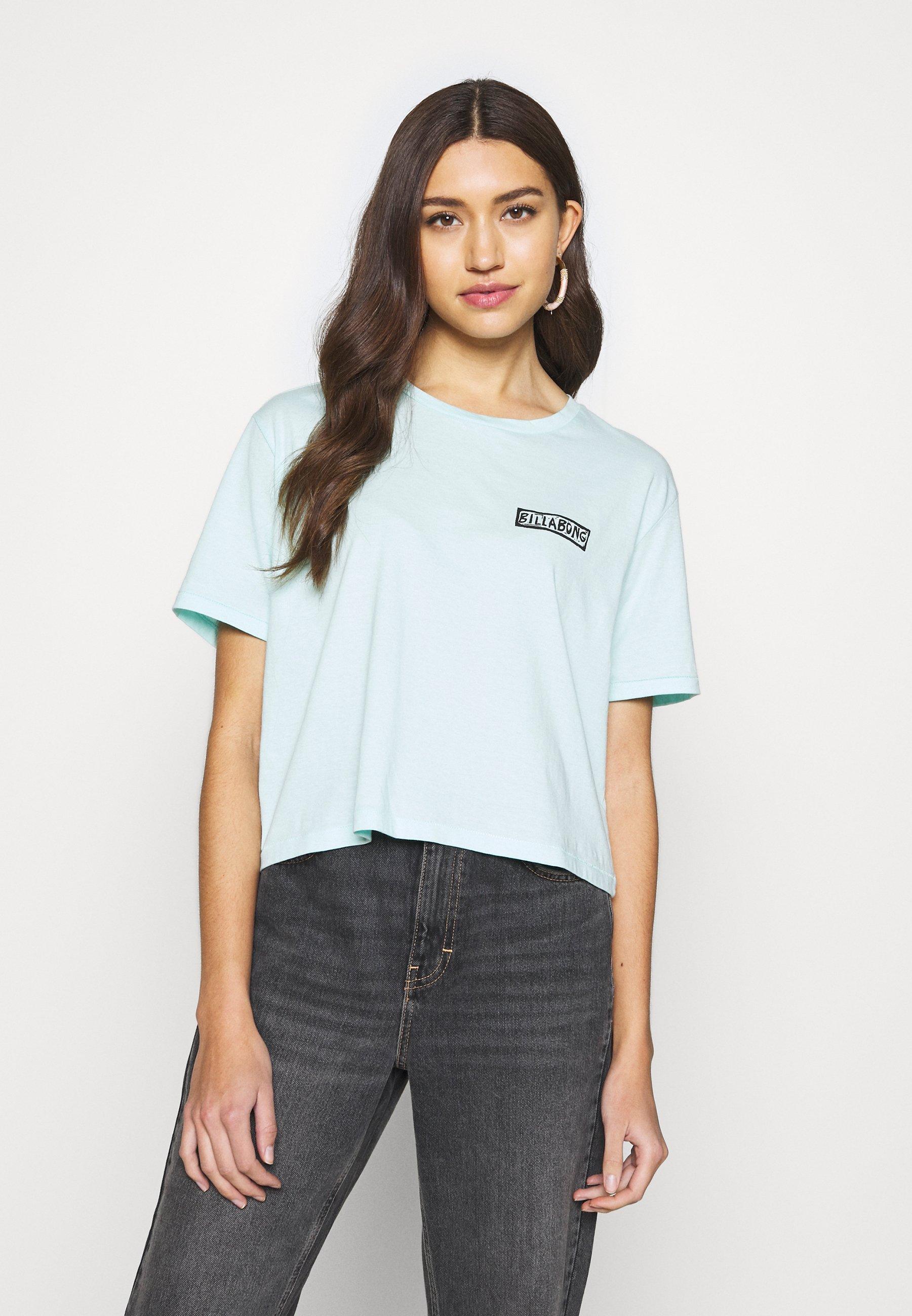 Billabong KNOW THE FEELING - T-shirts med print - bleached aqua