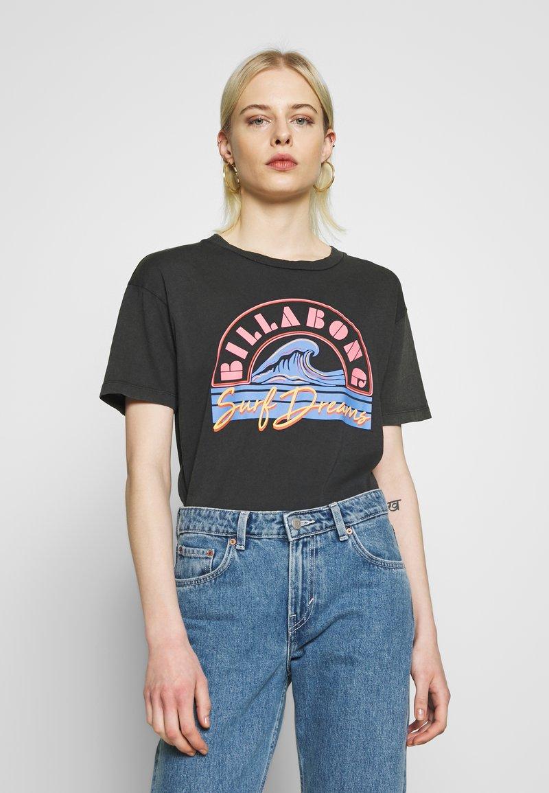 Billabong - SURF DREAM - Camiseta estampada - black