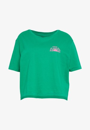 BUNS ALL DAY TEE - Triko s potiskem - emerald
