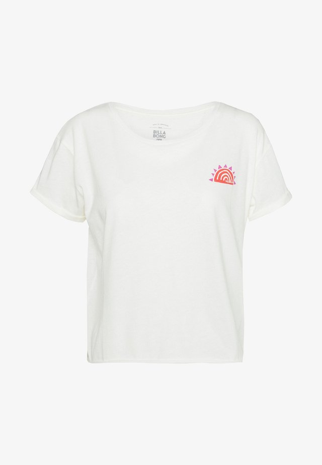 SUNS OUT - T-shirt print - salt crystal