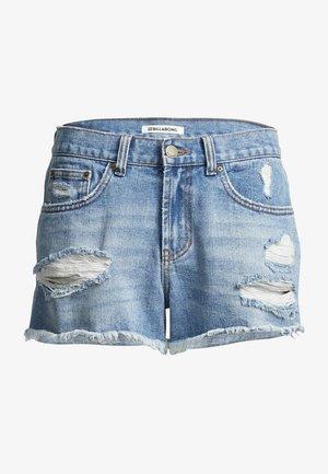 Denim shorts - indigo rinse