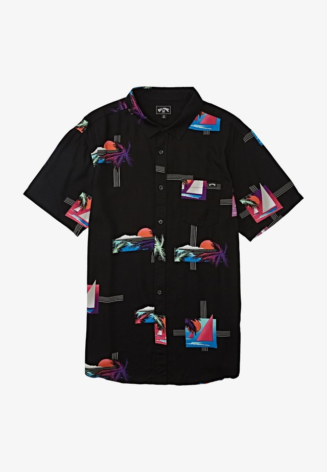 SHORT SLEEVE - Shirt - black multi