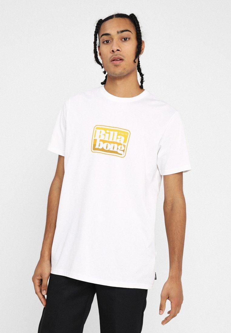 Billabong - KEYLINE TEE - Printtipaita - white