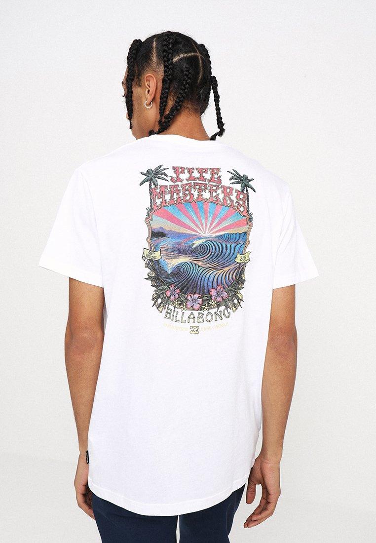 Billabong - BANZAI TEE - T-shirt print - white
