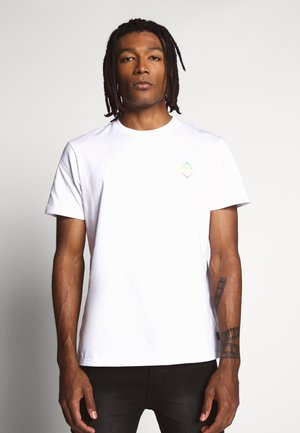 BUNKER TEE - T-shirt con stampa - white
