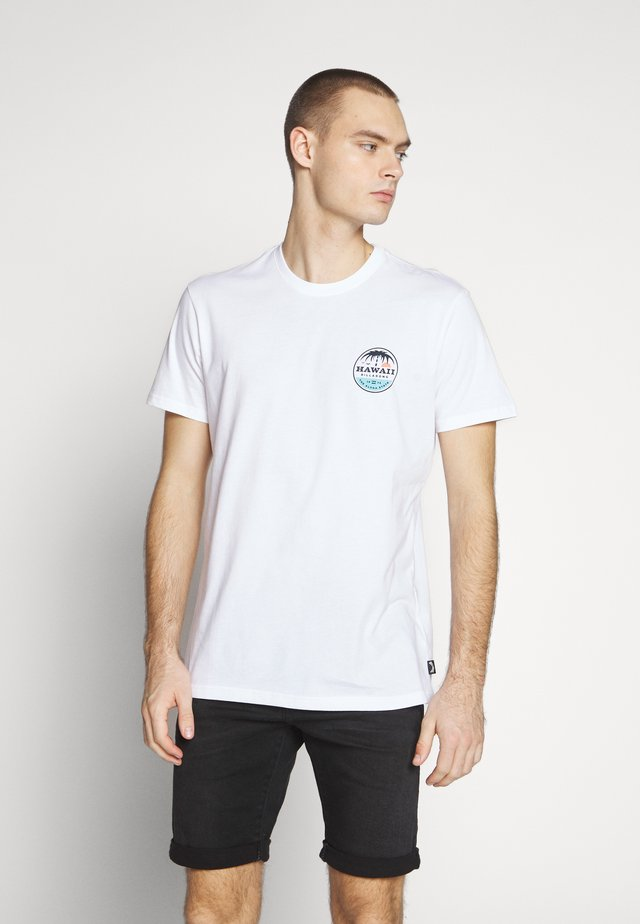 DREAMY PLACE TEE - T-shirt print - white