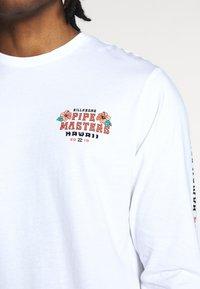 Billabong - PIPE TEE - Topper langermet - white - 5