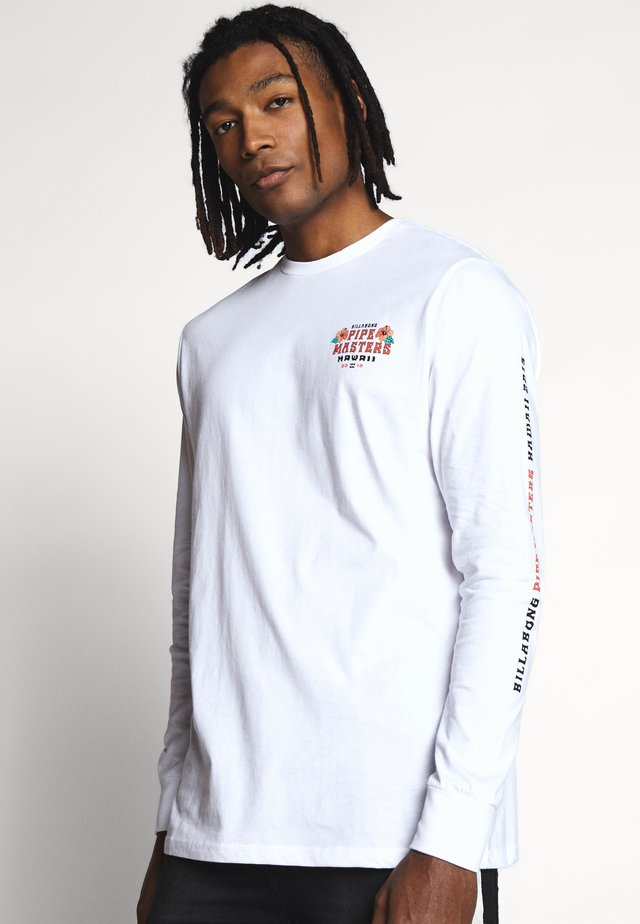 PIPE TEE - Camiseta de manga larga - white